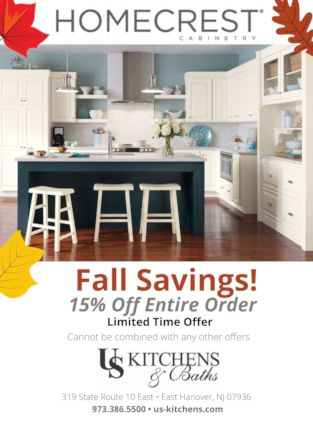 Homecrest Fall Savings - 15% off entire order