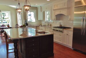 image for kitchen island second sink