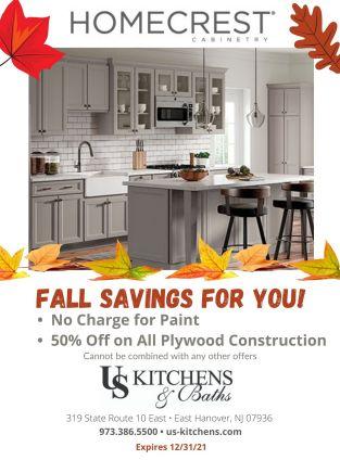 flyer for Homecrest Savings Fall 2021